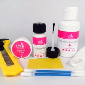 LCS Mini Leather Repair Kit (Inc Colour)
